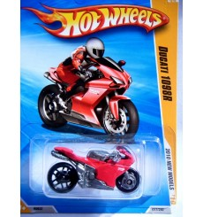 Hot Wheels Ducati 1098r Motorcycle