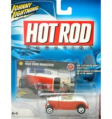 Johnny Lightning Hot Rod Magazine - 32 Ford Deuce Hiboy Roadster