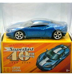 Matchbox Superfast 40th Anniversary - Lotus Evora