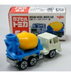 Tomica Nissan Diesel Cement Mixer