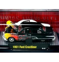 M2 Machines Auto Dreams 1951 Ford Crestliner