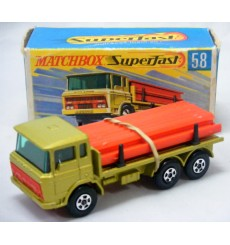 Matchbox Regular Wheels (58C-1) DAF Girder Truck