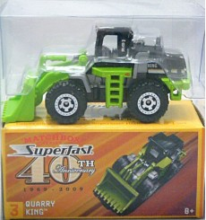 Matchbox 40th Anniversary Quarry King Front Loader