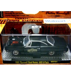 M2 Machines Bootlgger- 1969 Dodge Charger Daytona Hemi