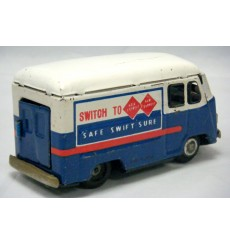 Japanese Tin Litho Friction - Rail Express Delivery Truck
