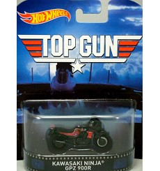 Hot Wheels - Nostalgia - Top Gun - Kawasaki Ninja GPZ 900R
