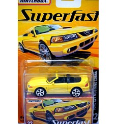 Matchbox Superfast Ford Mustang SVT Cobra Convertible