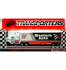 Matchbox - NASCAR Super Star - Darrell Waltrip Western Auto KenworthTransporter