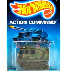 Hot Wheels - Action Command - Military Assault Crawler
