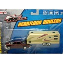 Maisto Heartland Haulers - Chevrolet Silverado and RV Camper