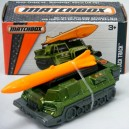 Matchbox Power Grabs - Attack Track - Military Mobile Missile Launcher