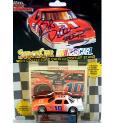 Racing Champions NASCAR - Derricke Cope 1991 Chevy Lumina Purolator Stock Car