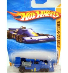 Hot Wheels 2010 New Models Series: Tyrrell P34 Six Wheeler Formula One Race Car
