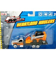 Maisto Heartland Haulers - Ford Flatbed with Bobcat