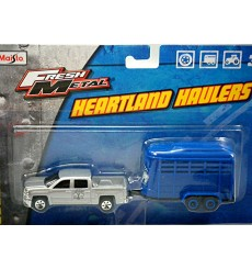 Maisto Heartland Haulers - Chevrolet Silverado and RV Camper