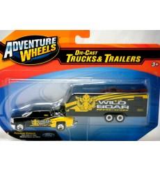 Maisto Adventure Wheels - Chevy Silverado - WIld Boar Racing