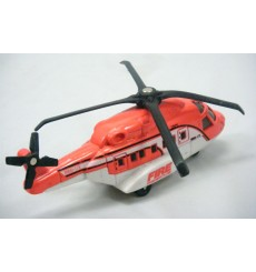 Matchbox Skybusters Police SWAT Team Helicopter