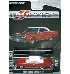 Greenlight Hobby Exclusives - Dodge 100th Anniversary - 1967 Coronet R/T