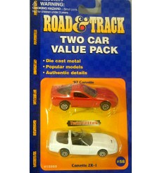 Maisto Road & Track - Chevrolet Corvette Set
