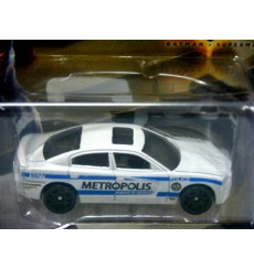 Hot Wheels - Batman-Superman Set - Dodge Charger Metropolis Police Car