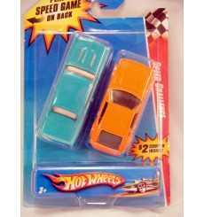 Hot Wheels Speed Challenge Set: Muscle vs. Import!