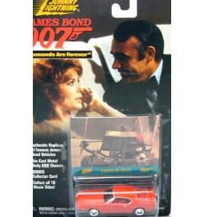 Johnny Lightning James Bond - Diamonds Are Forever - 1971 Ford Mustang Mach 1