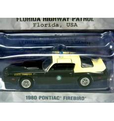 Greenlight Hot Pursuit - Florida Highway Patrol 1980 Pontiac Firebird Police Car