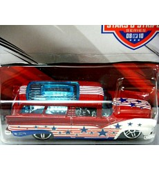 Hot Wheels Stars & Stripes: 8 Crate - 1955 Ford Station Wagon