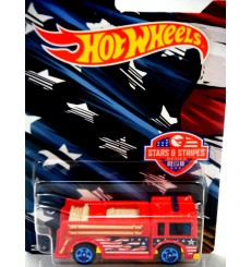 Hot Wheels Stars and Stripes - Fire Eater - Fire Engine