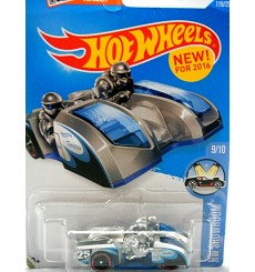 Hot Wheels 2016 New Models - Side Ripper - 2 Man Racing Motorcycle