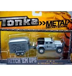 Tonka - Jeep and Horse Trailer Set