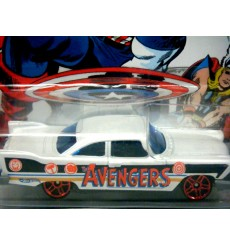 Hot Wheels - Captain America - The Avengers 1957 Plymouth Fury