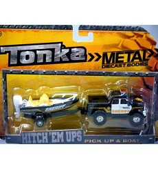 Tonka - Sheriff Crew Cab Pickup Truck and Patrol Boat Set