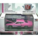 M2 Machines Detroit Muscle - Breast Cancer Awareness - 1970 Ford Torino GT 429 SCJ