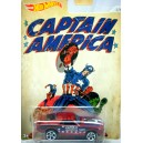 Hot Wheels - Captain America - 1970 Ford Mustang Mach 1