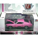 M2 Machines Detroit Muscle - Breast Cancer Awareness - 1970 Ford Mustang Mach 1 351