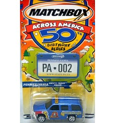 Matchbox Across America Series - Pennsylvania Chevy Tahoe Police Truck