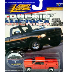 Johnny Lightning Truckin America Series - Dodge RAM 1500 Pickup Truck