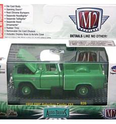 M2 Machines - 1958 GMC Suburban Carrier 4x4 Pickup Truck
