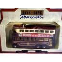 Lledo 1928 Karrier E6 Trolley Double Decker Bus