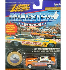 Johnny Lightning NHRA Wonder Wagon 1971 Chevrolet Vega Funny Car