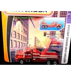 Matchbox Real Working Rigs Western Star 6900HD Tow Truck - Wrecker