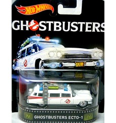 Hot Wheels - Ghostbusters Ecto-1 - 1959 Cadillac Miller-Meteor Ambulance