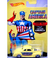 Hot Wheels - Captain America - 1940 Ford Coupe