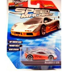 Hot Wheels Speed Machines McLaren F1 GTR Supercar