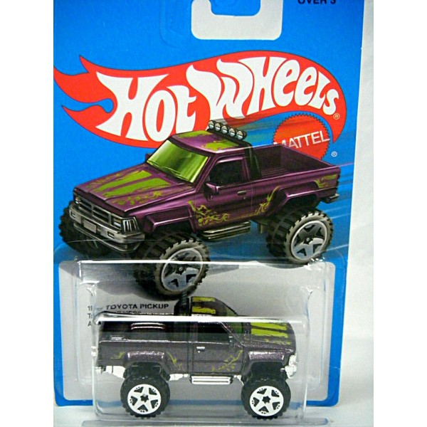hot wheels ultra cool 1987 toyota pickup truck. Black Bedroom Furniture Sets. Home Design Ideas