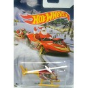 Hot Wheels 2015 Holiday Rods - Island Hopper Helicopter