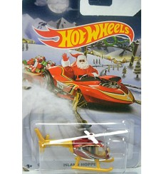 Hot Wheels 2015 Holiday Rods - Island Hipper Helicopter