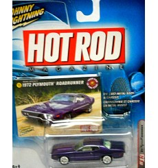 Johnny Lightning - Hot Rod Magazine - 1972 Plymouth Road Runner