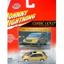 Johnny Lightning Classic Gold - Chrysler PT Cruiser